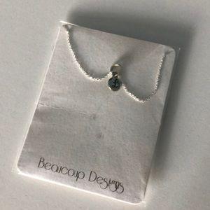 Jewelry - Tiny monogram necklace